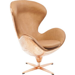 Swivel Chair Big Boss Brass