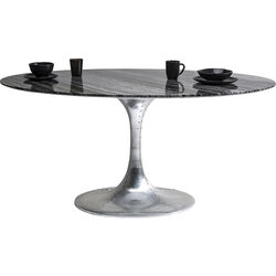 Table Invitation Marble Alu 160x100cm