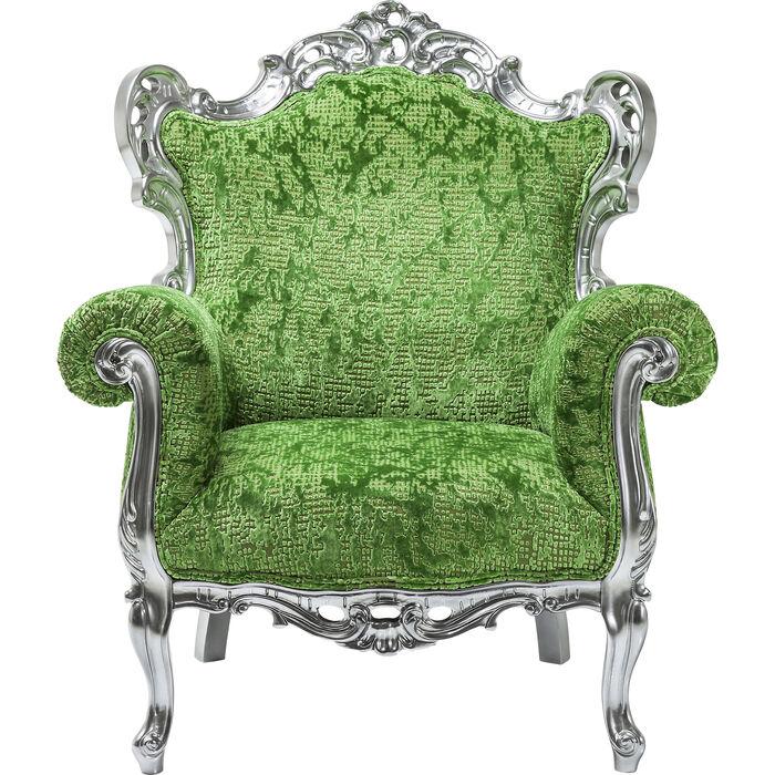 Poltrona posh silber verde kare design for Poltrona kare design
