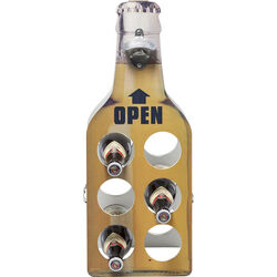Bottle Rack Open Bottle Yellow