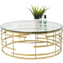 Coffee Table Jupiter Gold Ø100cm