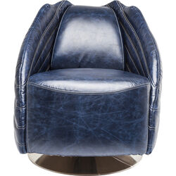 Swivel Chair El Capitan Blue