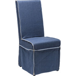 Chair Petticoat Cover Blue