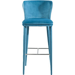 Bar Stool Santorini Light Blue