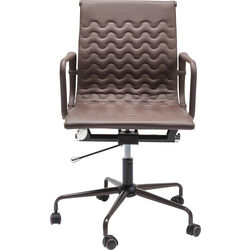 Office Chair Wave Brown