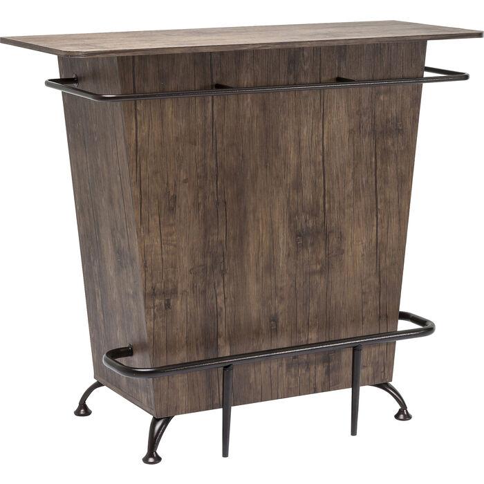 Bar lady rock walnut kare design for Kare design tisch bijou steel