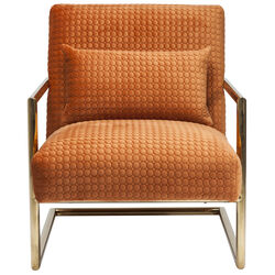 Armchair Living Vegas Orange