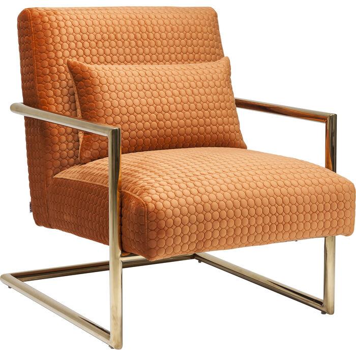 Poltrona living vegas orange kare design for Poltrona kare design