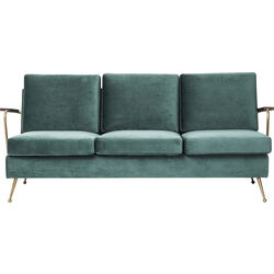 Sofa Gamble Green 3-Seater