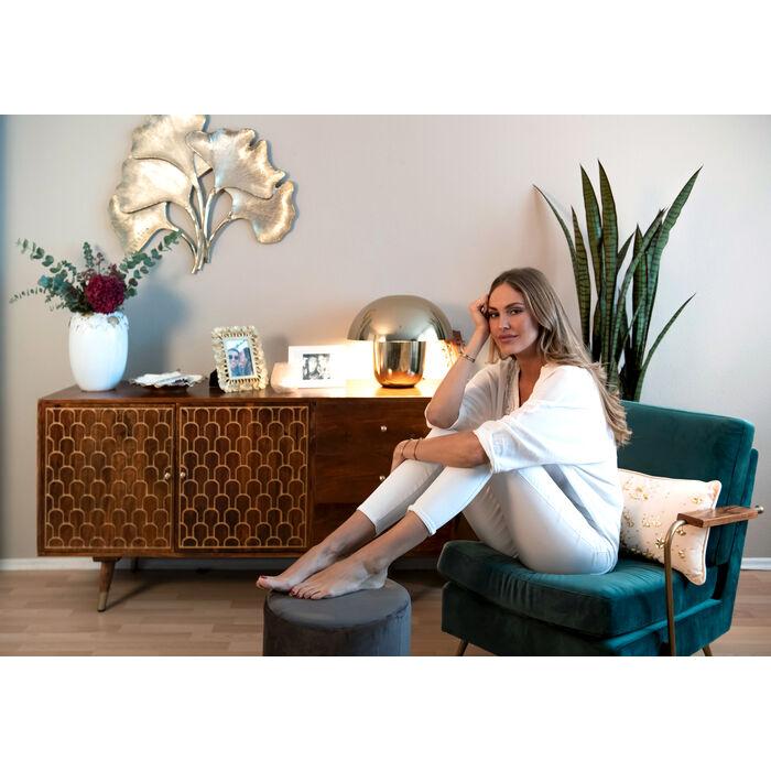 fauteuil gamble green kare design. Black Bedroom Furniture Sets. Home Design Ideas