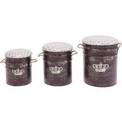 Stool Storage Royal (3/Set)