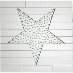 Mirror Star Raindrops 80x80cm