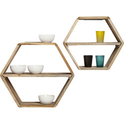 Wallshelf Micado Nature (2/Set)