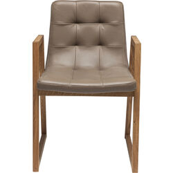 Chair Trapez Leather