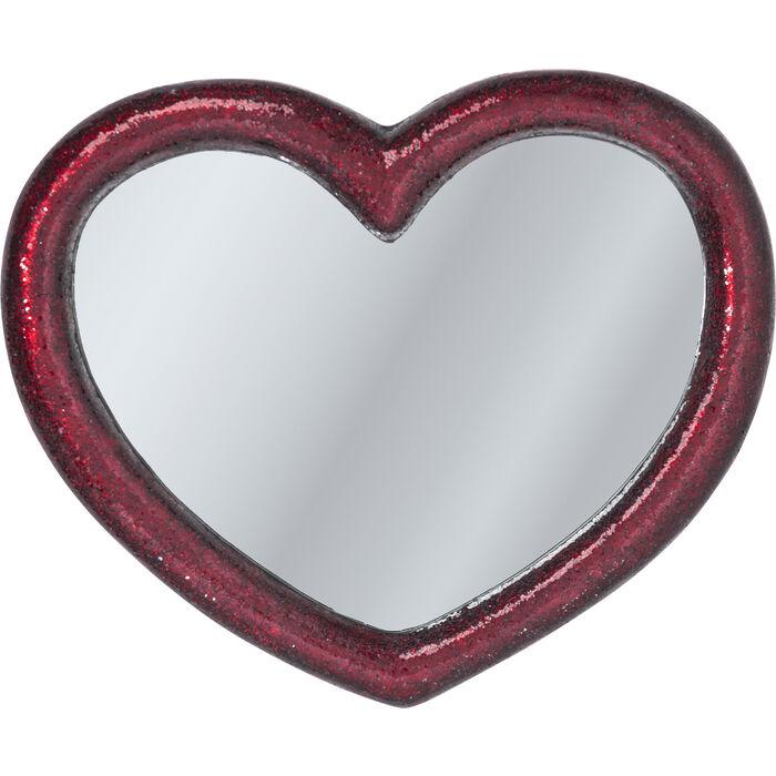 spiegel mosaik heart 100x123cm kare design. Black Bedroom Furniture Sets. Home Design Ideas