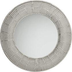 Mirror Silver Pearls Ø100cm