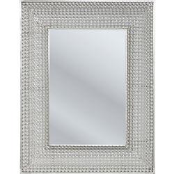 Mirror Silver Pearls 90x70cm
