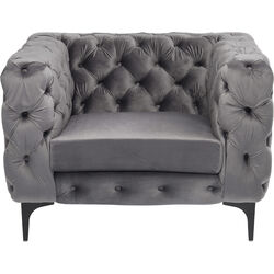Arm Chair Two Step Grey