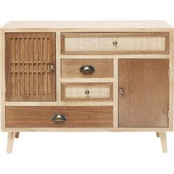 Dresser Samos 4 Drw 2 Doors 90cm