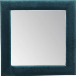 Mirror Velvet Bluegreen Square 100x100cm