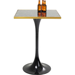 Bar Table San Remo Black Square 100x70x70cm