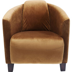Arm Chair Cigar Lounge Brown