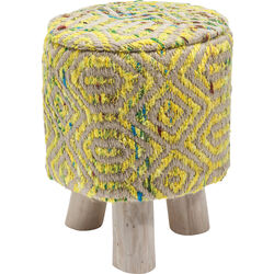 Stool Sunset Yellow