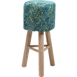 Bar Stool Sunset Blue