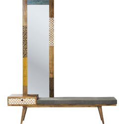 Bench With Mirror Soleil