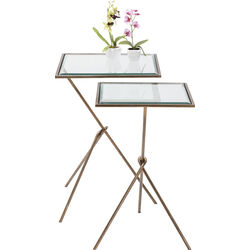 Side Table Knit Visible (2/Set)