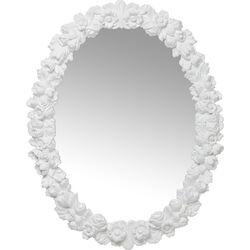 Mirror Fiorellino White 74x94