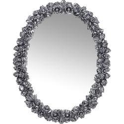 Mirror Fiorellino Chrome 74x94