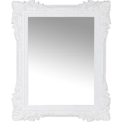 Mirror Fiore White 89x109