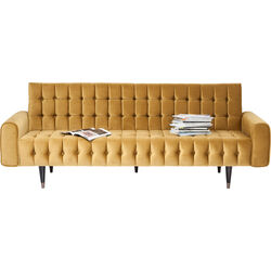Sofa Milchbar 3-Seater Velvet Honey