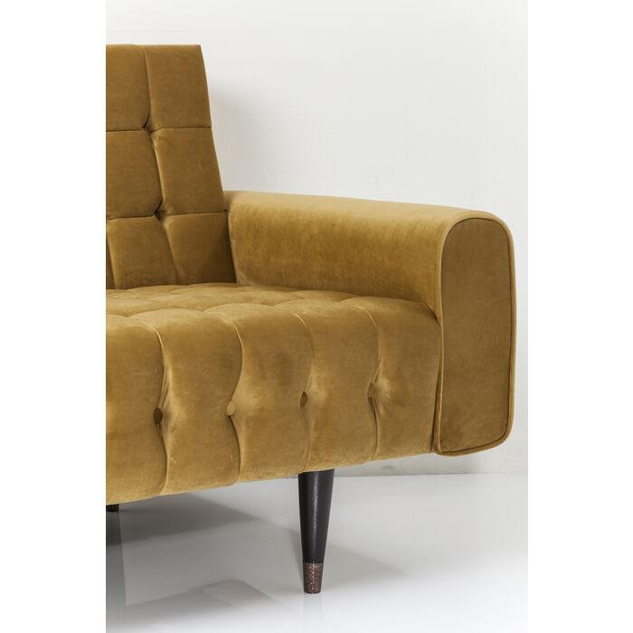 Sofa milchbar velvet honey 3 sitzer kare design for Couch regensburg