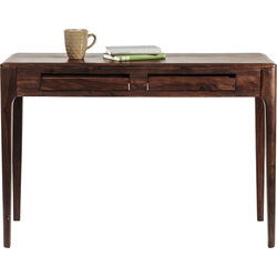 Brooklyn Walnut Console Laptop Desk 110x40cm