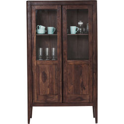 Display Cabinet Brooklyn Walnut 2 Doors