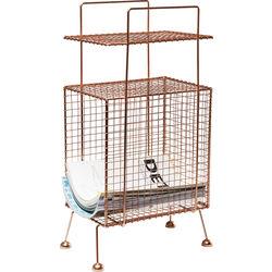 Side Table Weave Copper