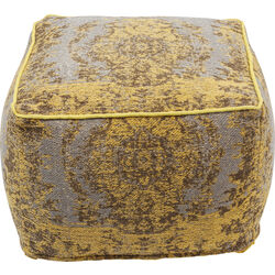Pouf Kelim Pop Yellow