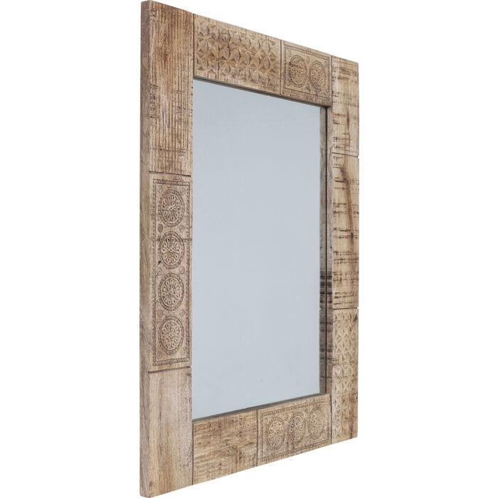 Mirror puro 100x80cm kare design for Miroir 100 x 80