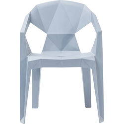 Chair Geometrial Grey