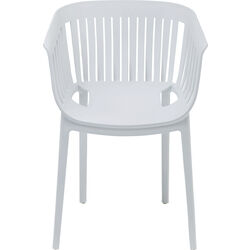 Chair with Armrest Golden Gate White