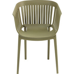 Chair with Armrest Golden Gate Green
