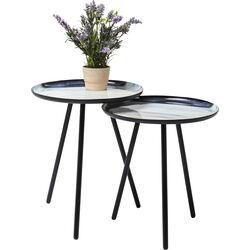 Side Table Mancha Ø40cm (2/Set)