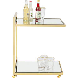 Bar Trolley Classy Gold
