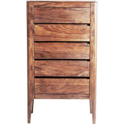 High Dresser Brooklyn Nature 5 Drawers