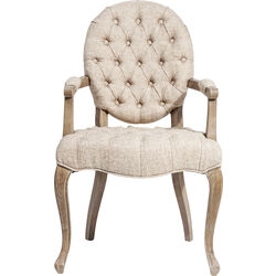Chair with Armrest Duchess Nature