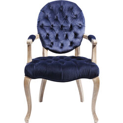 Chair with Armrest Duchess Blue
