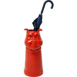 Umbrella Stand Mr Dog Red