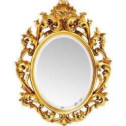 Mirror Sun King Oval Gold 80x60xcm